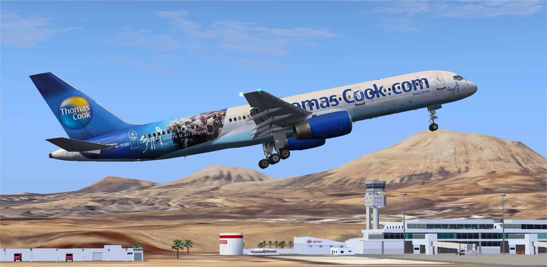 Product Name : QualityWings 757-200 Thomas Cook G-TCBB Product