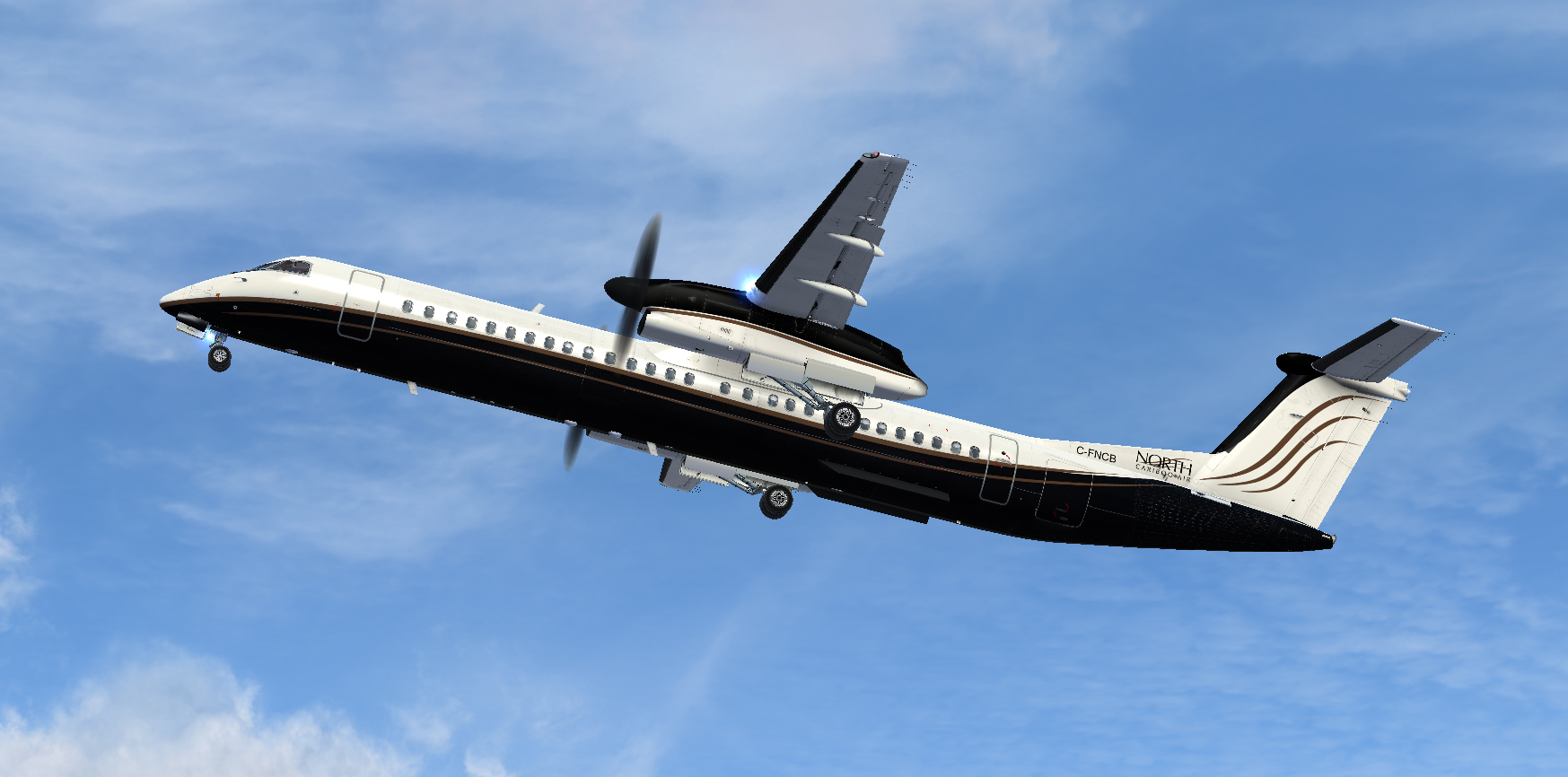 Product Name : Majestic Q400 North Cariboo Air Product ID