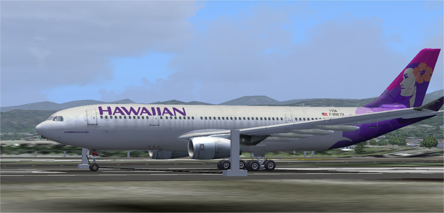 Product Name : Wilco/FeelThere A330-200 Hawaiian Airlines Product